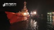 8 ngư dân Nghệ An gặp nạn trên biển đã cập bờ an toàn
