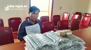 Bộ đội biên phòng Nghệ An bắt đối tượng tàng trữ lượng thuốc nổ lớn