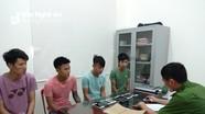 Bắt tạm giam nhóm trộm 9X chuyên cướp giật ở huyện lúa
