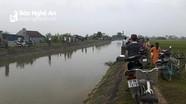 Tắm kênh, nam sinh lớp 5 ở Nghệ An bị đuối nước thương tâm