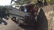 Xe chở người khuyết tật gặp nạn ở Nghệ An, 2 người tử vong tại chỗ