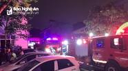 Nghệ An: Giải cứu 7 người mắc kẹt ở tầng 8 trong vụ cháy khu nhà ở sinh viên