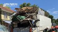Đâm xe bồn, tài xế xe tải tử vong sau khi được giải cứu do mắc kẹt trong cabin