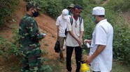 Phát hiện, đưa đi cách ly 8 công nhân làm việc tại Lào nhập cảnh trái phép
