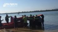 Tìm thấy thi thể nam thanh niên đuối nước khi đi bơi dọc sông Lam