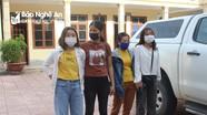 Giải cứu trong đêm 2 thiếu nữ Nghệ An bị nhốt, đánh đập bắt phục vụ khách hát karaoke