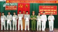 Trại tạm giam Công an Nghệ An công bố 27 phạm nhân được giảm án tù nhân dịp Quốc khánh 2/9