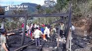 Cháy ngôi nhà gỗ 4 gian thiệt hại trên 200 triệu đồng