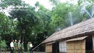 Kiểm tra an toàn phòng cháy chữa cháy tại Khu di tích quốc gia đặc biệt Kim Liên