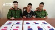 Bắt vụ vận chuyển 2.000 viên hồng phiến đưa về vùng biển Nghệ An tiêu thụ