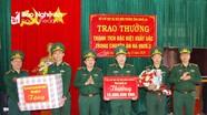 Trao thưởng cho Đồn Biên Phòng Cửa khẩu quốc tế Nậm Cắn vụ truy bắt 30 bánh heroin