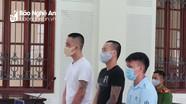 Tòa Nghệ An tuyên tử hình 3 bị cáo trong đường dây mua bán ma túy tiền tỉ