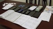 Công an Nghệ An phá đường dây đánh bạc ở Hoàng Mai với số tiền hơn 60 tỉ đồng
