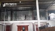 Cháy nhà ở kiêm kho vật liệu xây dựng ở huyện Kỳ Sơn