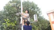 Nghệ An: Lắp đặt 7 trạm quan trắc khí tượng cảnh báo cháy rừng