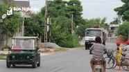 Nghệ An: Ô tô tự chế nghênh ngang trên đường quốc lộ