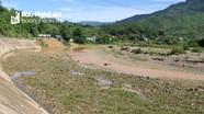Sông Nậm Mộ - thượng nguồn Sông Lam kiệt nước, trơ đá sỏi