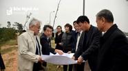 Tập đoàn Mitsubishi khảo sát thực địa xây dựng nhà máy tại Nghệ An