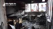 Cháy nhà trong đêm, thiệt hại nửa tỷ đồng