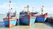 30/104 tàu 67 của Nghệ An khai thác kém hiệu quả