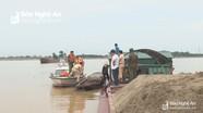Nghệ An: Đẩy nhanh tiến độ cấp giấy phép hoạt động kinh doanh cát sỏi