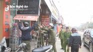 Các địa phương ở Nghệ An quyết liệt giải tỏa hành lang giao thông