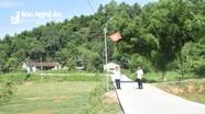 Nông dân xã miền núi Nghệ An góp hàng chục triệu đồng/hộ làm đường nông thôn mới