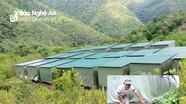 Cận cảnh 'nhà dã chiến' sơ tán khẩn cấp 158 hộ khỏi nguy cơ sạt lở ở Kỳ Sơn