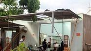 Lốc xoáy làm tốc mái 129 nhà dân ở Con Cuông