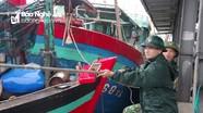 Bộ đội Biên phòng Nghệ An gấp rút phòng, chống bão số 2