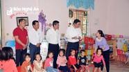 Lãnh đạo tỉnh làm việc với thị xã Hoàng Mai về tiến độ xây dựng nông thôn mới