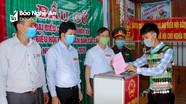 Nghệ An: Trên 99% cử tri tại 207 khu vực bầu cử sớm đi bầu cử