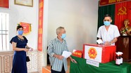 Gần 200 nghìn cử tri huyện Diễn Châu đi bỏ phiếu bầu cử