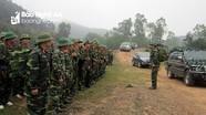 Bồi dưỡng kỹ năng cán bộ tham gia diễn tập khu vực phòng thủ cấp huyện tại Nghệ An