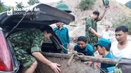 Nghệ An: Trục vớt thành công quả bom dưới sông Nậm Mộ