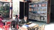 Độc đáo 'thư viện hiên nhà' của cựu chiến binh 90 tuổi ở Nghệ An