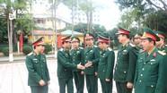 Thứ trưởng Bộ Quốc phòng Nguyễn Tân Cương thăm và làm việc tại Nghệ An