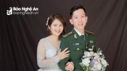 Trung úy biên phòng Nghệ An hoãn đám cưới để trực chốt chặn biên giới phòng chống Covid-19