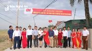 Khánh thành đường giao thông nông thôn ở xã Xuân Lâm (Nam Đàn)