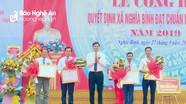 Xã Nghĩa Bình (Tân Kỳ) đón Bằng công nhận xã đạt chuẩn nông thôn mới