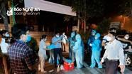 Hoàng Mai giãn cách xã hội, 5 thôn bị phong tỏa vì ca mắc Covid-19 đầu tiên ở Nghệ An
