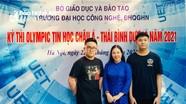 Hai nam sinh Nghệ An giành Huy chương Bạc Olympic Tin học quốc tế năm 2021