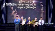 Trao giải cho 11 tác phẩm xuất sắc trong cuộc vận động sáng tác ca khúc về Truông Bồn
