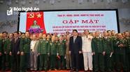 Tỉnh Nghệ An gặp mặt cán bộ cao cấp quân đội đã nghỉ hưu, nghỉ công tác
