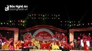 Rực rỡ đêm hội Giao thừa chào Xuân Canh Tý 2020 tại Nghệ An