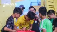 Phan Văn Đức gây chú ý tại Hàng Đẫy, háo hức đối đầu CLB Hà Nội