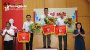 Thành phố Vinh dẫn đầu tại Hội khỏe Phù Đổng toàn tỉnh lần thứ XIX
