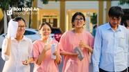 Nghệ An: Công bố điểm chuẩn, danh sách thí sinh trúng tuyển vào lớp 10 các trường chuyên