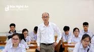 Giáo viên ở Nghệ An bày tỏ 'hài lòng' với  đề thi môn Tổ hợp
