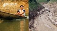 Hình ảnh ấn tượng về 2 mùa nước ở lòng hồ thủy điện Bản Vẽ